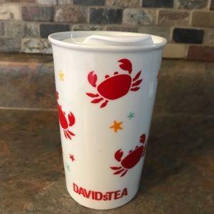 David's Tea Crab Tumbler
